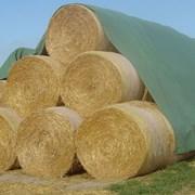 Флис для укрытия сена и соломы. Заготовка кормов фото
