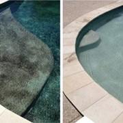 Чистка мойка бассейнов, фонтанов, прудов фото