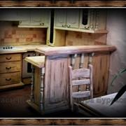Барные стойки для кухни, барные острова для кухни на заказ от производителя. фото