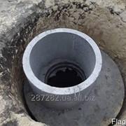 Копка сливных/выгребных-переливных ям(приямки).ЖБ кольца фото