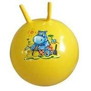 Мяч с двумя ручками 45см фото