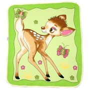 "Одеяло-плед ""Бемби"" для новорожденных фото"