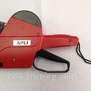 Этикет-пистолет однострочный,8-ми разрядный,Apli, 101418. фото