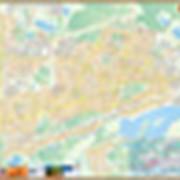 Карта г. Дзержинск (настенная) фото