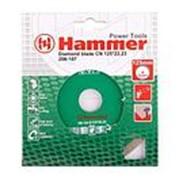 Диск алмазный HAMMER 206-108 DB CN 150*22мм. сплошной фото