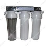 3-ступенчатая очистка под кухонную мойку Aquafilter FP3-2 с вкладами 10 №700310 фото
