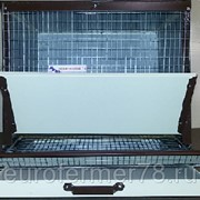 Клетка для кур несушек на 7 голов в полимерном покрытии ЕвроФермер78 фото