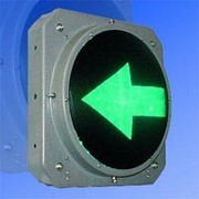 Noname Секция стрелка зеленая левая 300 мм светофора транспортного арт. СцП23384 фото
