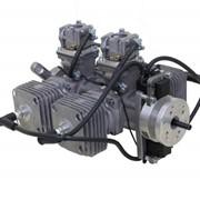 Двухтактный авиационный двигатель СШ-340 (Two-cycle aero engine ESS-340) фото