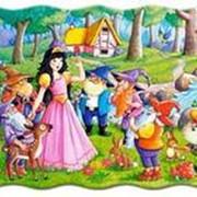 Пазл Castorland Сказки 20 деталей maxi, Белоснежка фото