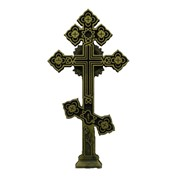 Литой надмогильный крест фото