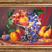 Наборы для вышивания бисером Натюрморт с персиками фото
