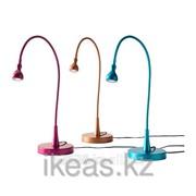 Рабочая лампа, светодиодная, бордовый,бирюзовый, медный ЯНШО фото