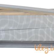 Изолятор сетчатый оцинкованный на улей типа «Рута» на 1 рамку фото