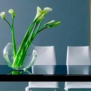 Изготовление стеклянной мебели под заказ фото