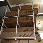 Двусторонний складской стеллаж (до 3 т) фото