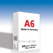 Бумага для принтера copy paper A6, 500 листов, 80 гр/м2, 105 х 148 мм SPPFA6C фото