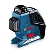 Лазерный нивелир Bosch GLL 2-80 P со штативом BS 150 и вкладка под L-Boxx фото