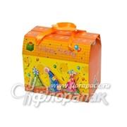 Коробка-трансформер с объем. деталью (12/15/9)см фото
