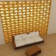 Fotopanou plasă de lemn (2,5x2,4 m) фото