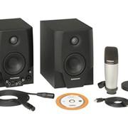 Активные студийные мониторы Samson Studio GT + микрофон Samson C01 + XLR кабель фото