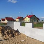 Строительные стеновые блоки несъемной опалубки. фото