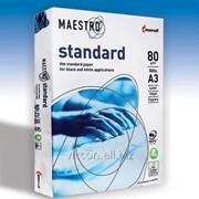 Бумага для принтера maestro standard A3, 500 листов, 80 гр/м BMSA3 фото