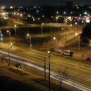 Монтаж уличного освещения фото
