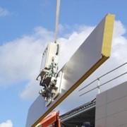 Стеновые трёхслойные сэндвич панели (толщина 50-250 мм, ширина 1000-1190 мм, длина 2,5-12 м) фото