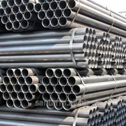 Труба стальная водогазопроводная ГОСТ 3262 фото
