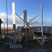 Вертикальный ветрогенератор 20 кВт фото