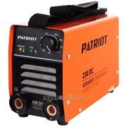 Аппарат сварочный Patriot 230DC MMA фото