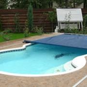 Поливиниловые ролетные накрытия на бассейны Coverstar. Накрытия для бассейнов. Накрытия на бассейны фото