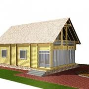 Дом деревянный Д-22-57,89 фото