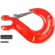 Крюк с вилочным креплением и защелкой TOR г/п 5,3 тн фото