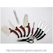 Профессиональный набор кухонных ножей Контр Про (Contour Pro Knives) фото