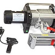 Лебедка электрическая индустриальная СТОКРАТ HD 18.5 WP, 12V, 6.8 л.с. фото