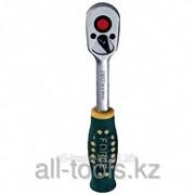 Трещотка с резиновой ручкой L=200 мм 3/8 Код:80233 фото