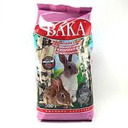 Корм ВАКА для шиншил и кроликов 500г фото
