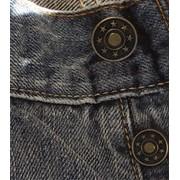 Установка джинсовой пуговицы фото