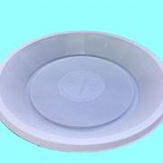Тарелка одноразовая, диаметр 170мм. фото