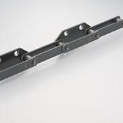 Цепи приводные роликовые шести, восьмирядные повышенной точности и прочности 8ТП-31,75 фото