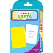 """Набор карточек Interbaby """"Цвета"""" к01 фото"""