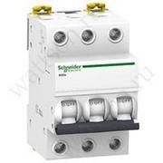 Выключатель автоматический модульный SCHNEIDER ELECTRIC iK60N 3Р 25А 6кА х-ка С фото