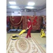 Химчистка ковров. сухая чистка ковров фото