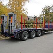 ЧМЗАП 99064-081КШТ2 (длина платформы 10,5 метров, грузоподъемность 38 тонн, механические трапы) фото
