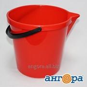 Ведро 12л с носиком красный *10 (Ангора) фото
