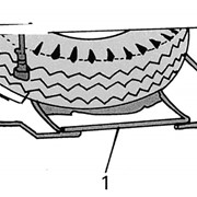 Кассетницы для запасного колеса прицепов и полуприцепов фото
