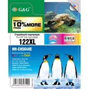 Струйный цветной картридж G&G 122XL для HP DeskJet 1000/2000/3000/1050//1055/2050/3050 фото