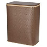 Корзина для белья Cameya темная золото средняя арт. KDG-M фото
